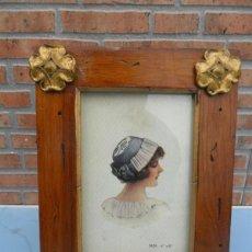 Antigüedades: PORTAFOTOS DE MADERA. Lote 39663900