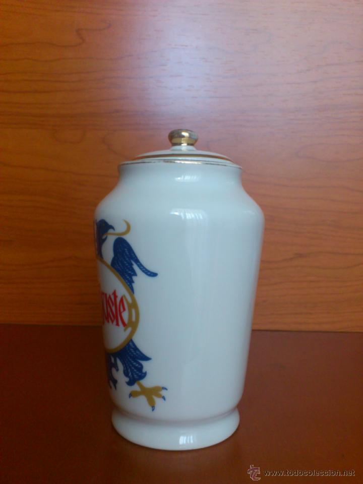 Antigüedades: Antiguo albarelo de farmacia DENTIJUSTE, FABRICA DE PORCELANAS SANTA CLARA MOISES ALVAREZ - Foto 5 - 39665466