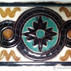 Antigüedades: BONITO AZULEJO, CENEFA, DE TRIANA, ( SEVILLA ) PRINCIO S.XX. Lote 39666866