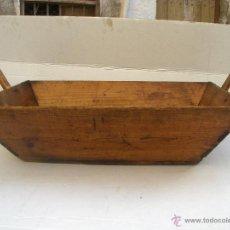 Antigüedades: GAVETA ARTESA ANTIGUA PARA ACARREO Y LIMPIEZA DE LA UVA, BERJA ALMERIA. Lote 41336635