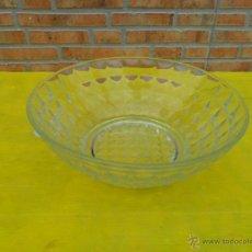 Antigüedades: CUENCO DE CRISTAL TALLADO. Lote 39676106