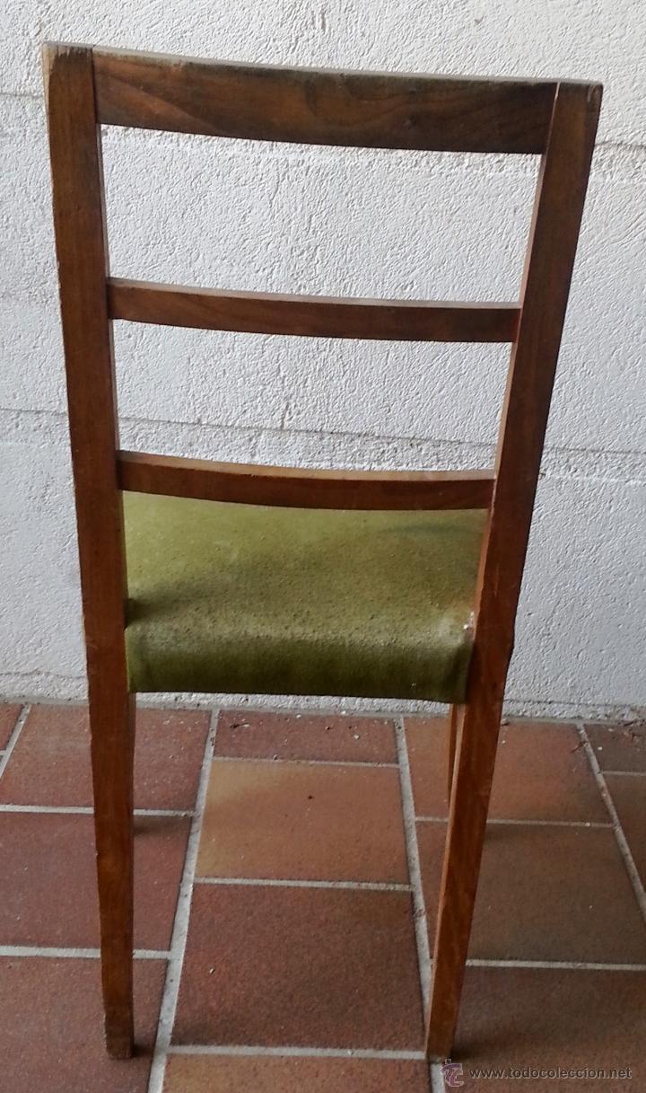 Antigüedades: SILLA SUELTA ANTIGUA DE ROBLE. PARA TAPIZAR. - Foto 2 - 39677210