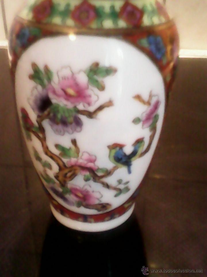 PRECIOSA JARRA DE PORCELANA ,CHINA PINTADA A MANO (Antigüedades - Porcelanas y Cerámicas - China)