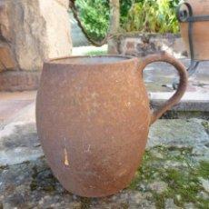 Antigüedades: PUCHERO DE HIERRO. Lote 39682997