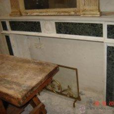 Antigüedades: CHIMENEA DE MARMOL. Lote 39689320