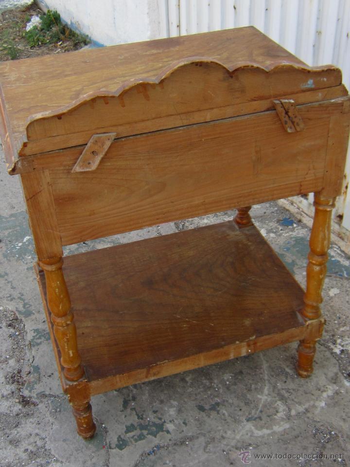 Mesilla de madera para restaurar comprar muebles for Antiguedades para restaurar