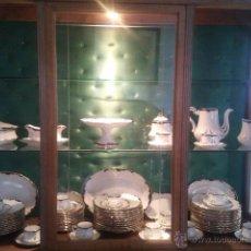 Antigüedades: VAJILLA PICKMAN COMPLETA SELLO 45 1908-30 MÁS JUEGO DE CAFÉ. Lote 39700436