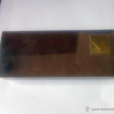 Antigüedades: LOTE DE 3 ANTIGUAS CAJAS DE PLATA DE 1970. Lote 39700595