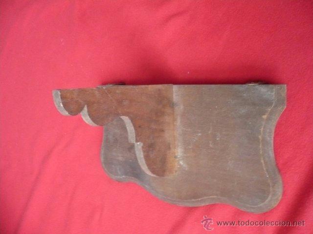 Antigüedades: ANTIGUA PEANA REPISA - Foto 3 - 39709340