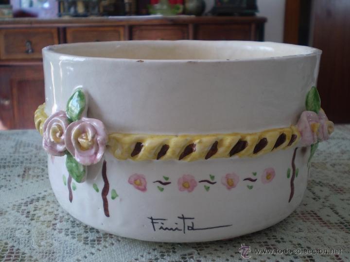 Antiguo porta macetas en ceramica estilo modern comprar Macetas ceramica online