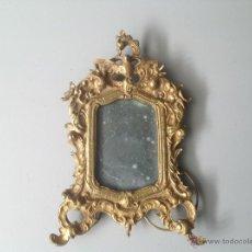 Antigüedades: MARCO DE BRONCE DORADO ESTILÓ LUIS XV. FINALES SXIX. Lote 39724858