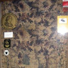 Antigüedades: TAPIZ DE FINALES DEL S. XIX CON ESCENA DE CAZA. Lote 39755327