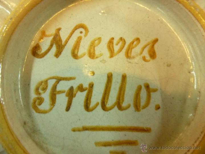Antigüedades: plato de ceramica - Foto 5 - 39739619