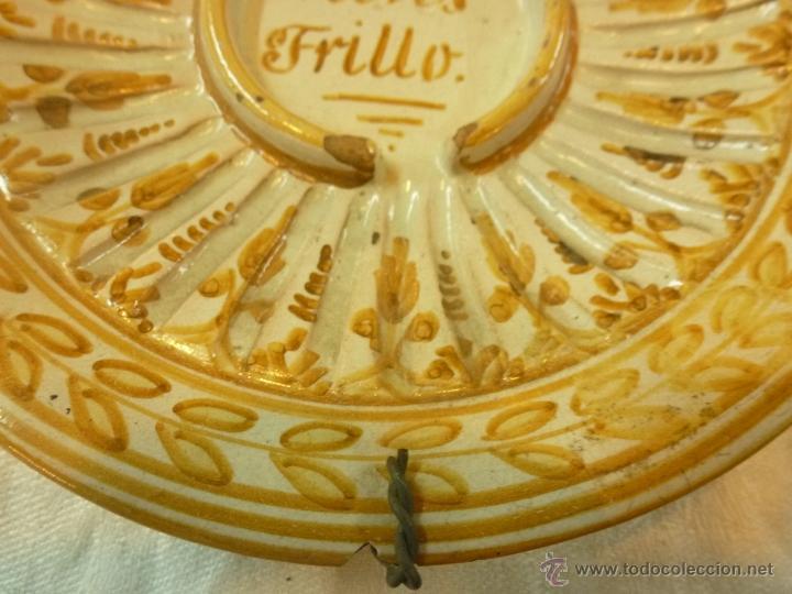 Antigüedades: plato de ceramica - Foto 10 - 39739619