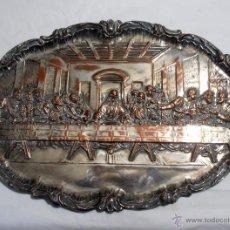 Antigüedades: BAJORRELIEVE, ULTIMA CENA DE JESUS. Lote 134255457