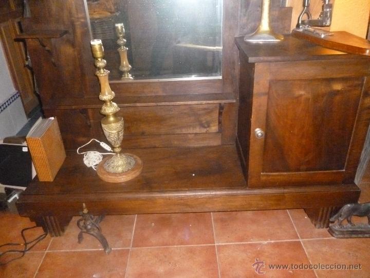 Antigüedades: CONSOLA DE NOGAL - Foto 2 - 39746310