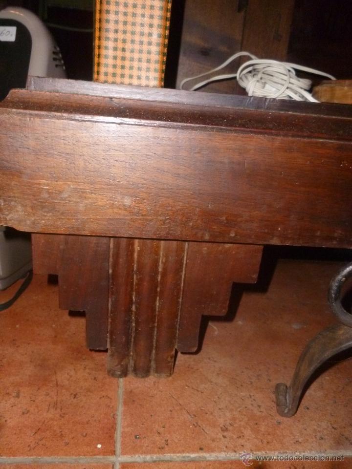 Antigüedades: CONSOLA DE NOGAL - Foto 3 - 39746310