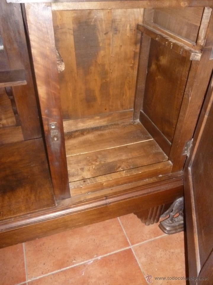 Antigüedades: CONSOLA DE NOGAL - Foto 7 - 39746310