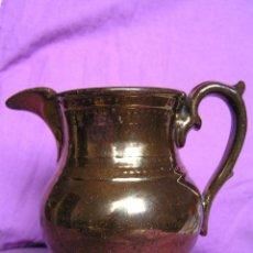 Antigüedades: JARRA BRISTOL DE REFLEJOS METÁLICOS. SIGLO XIX.. Lote 39753700