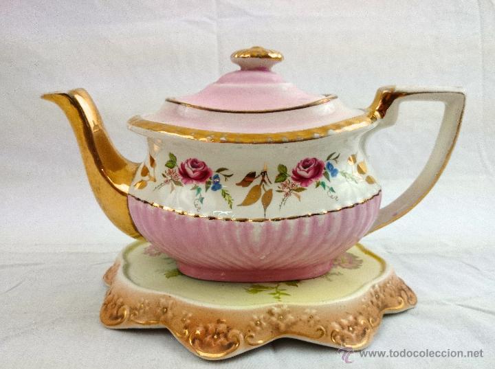 Tetera de porcelana o loza inglesa comprar porcelana - Porcelana inglesa antigua ...