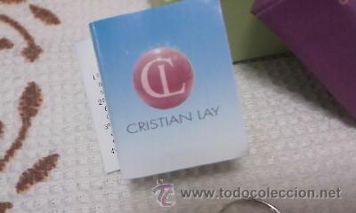 Antigüedades: Precioso aros de plata de ley con circonitas de CRISTIAN LAY,Con caja original.Con certificado Nuevo - Foto 3 - 126584315