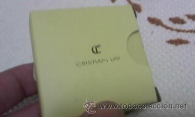 Antigüedades: Precioso aros de plata de ley con circonitas de CRISTIAN LAY,Con caja original.Con certificado Nuevo - Foto 6 - 126584315