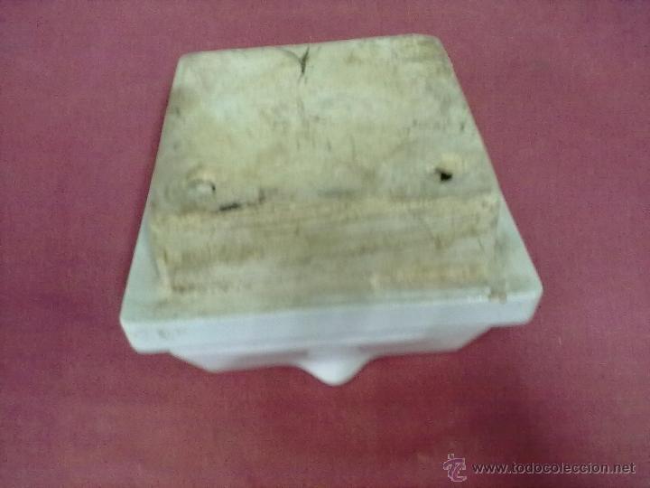 Antigüedades: JABONERA CERAMICA BLANCA - Foto 2 - 39758044