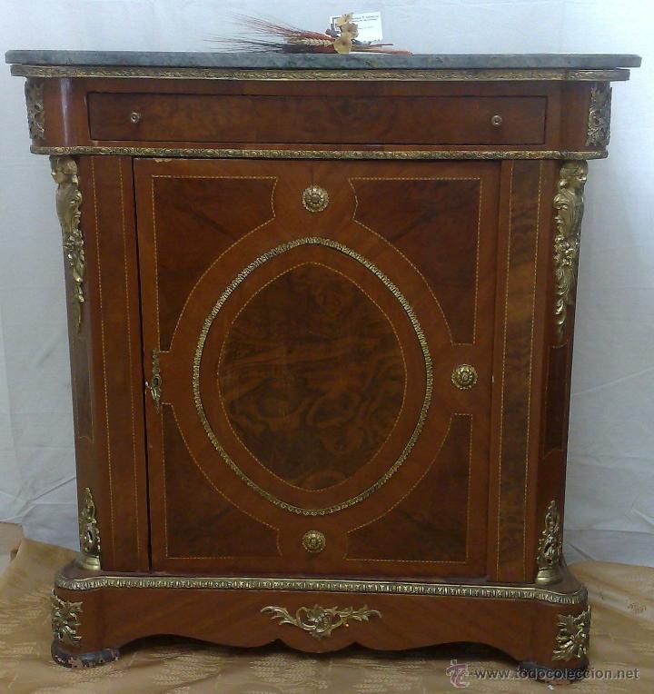 Antiguo mueble entred s de estilo franc s comprar muebles auxiliares antiguos en - Muebles estilo antiguo ...