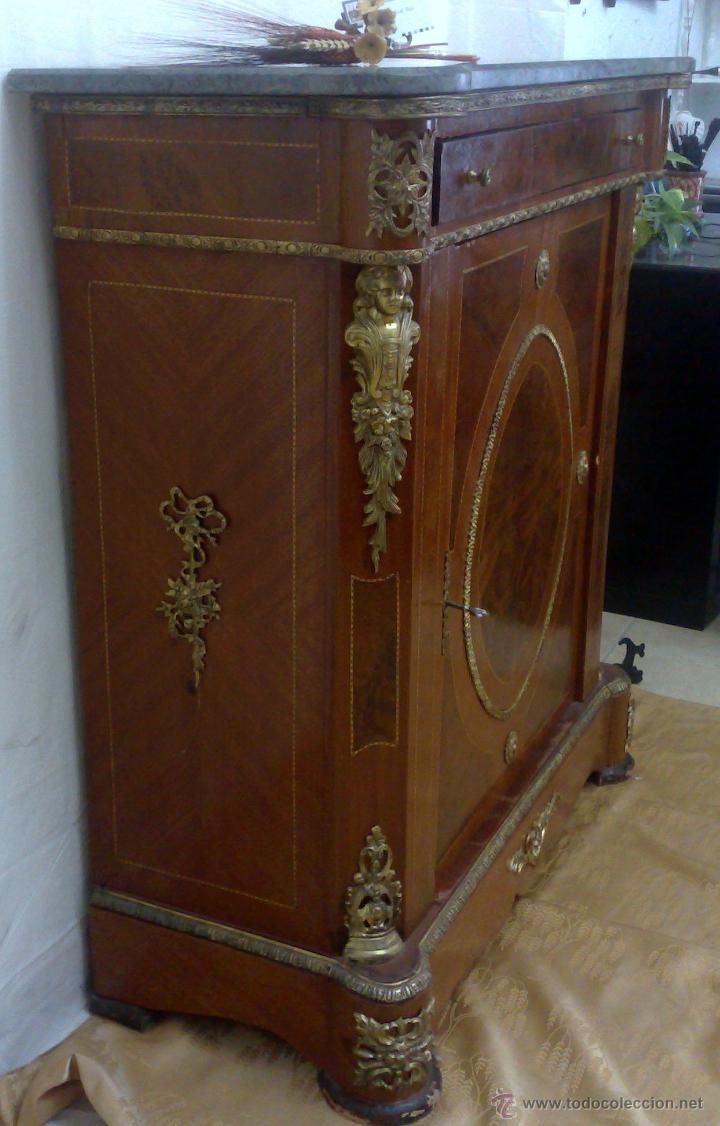 Antigüedades: ANTIGUO MUEBLE , ENTREDÓS, DE ESTILO FRANCÉS. - Foto 3 - 30021603