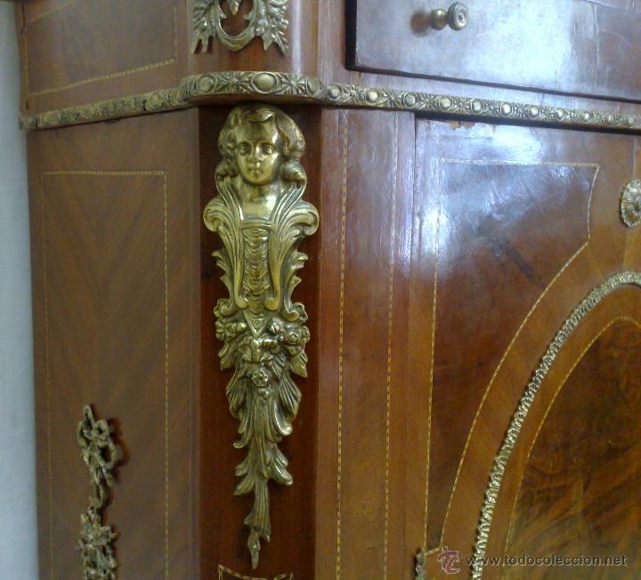 Antigüedades: ANTIGUO MUEBLE , ENTREDÓS, DE ESTILO FRANCÉS. - Foto 5 - 30021603