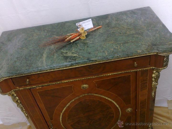 Antigüedades: ANTIGUO MUEBLE , ENTREDÓS, DE ESTILO FRANCÉS. - Foto 11 - 30021603