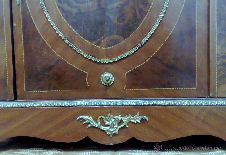 Antigüedades: ANTIGUO MUEBLE , ENTREDÓS, DE ESTILO FRANCÉS. - Foto 28 - 30021603