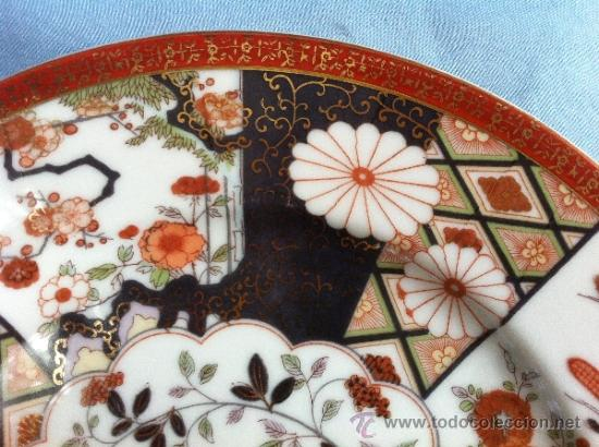Antigüedades: PLATO ANTIGUO EN PORCELANA DE BAVARIA CON SELLO - Foto 3 - 39780520