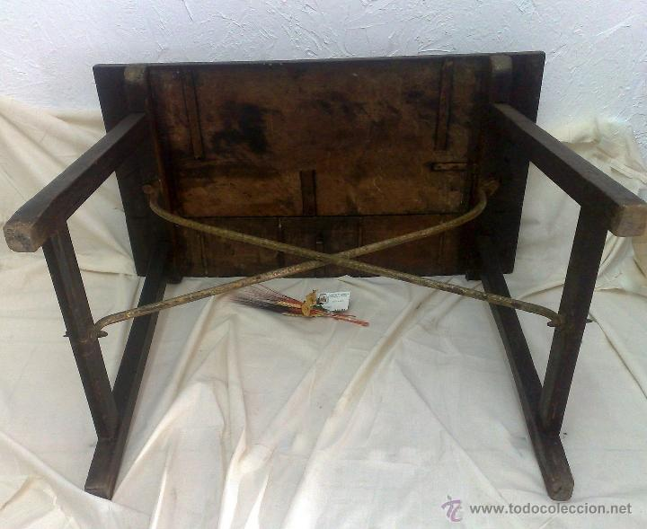 Antigüedades: ANTIGUA MESA BARGUEÑERA ESPAÑOLA, SIGLO XVIII-XIX - Foto 18 - 27719355