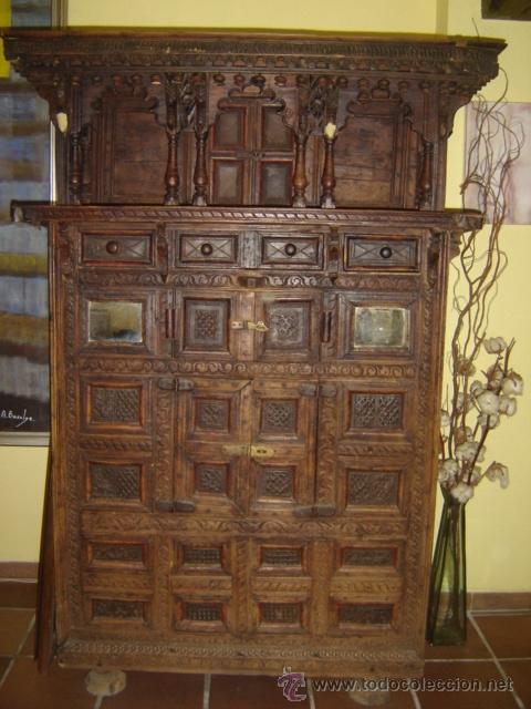 mueble indio comprar armarios antiguos en todocoleccion