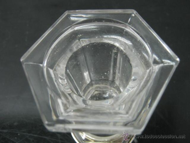 Antigüedades: Bello Cristal de Roca al 24 % - plata ley 925 - Foto 2 - 39810065