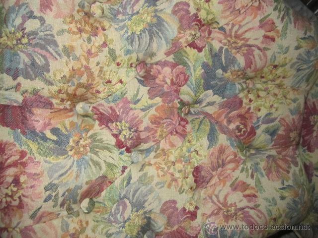 Pareja de sof s antiguos tapizado en tela esta comprar - Sofas clasicos de tela ...