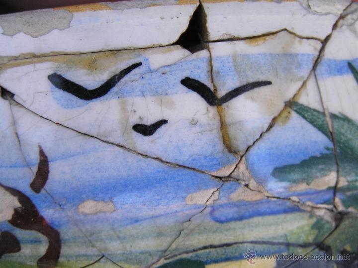 Antigüedades: ESCUPIDERA DECORADA. circa 1900. MANISES . LA UNIVERSAL. F.A. - Foto 11 - 39843069
