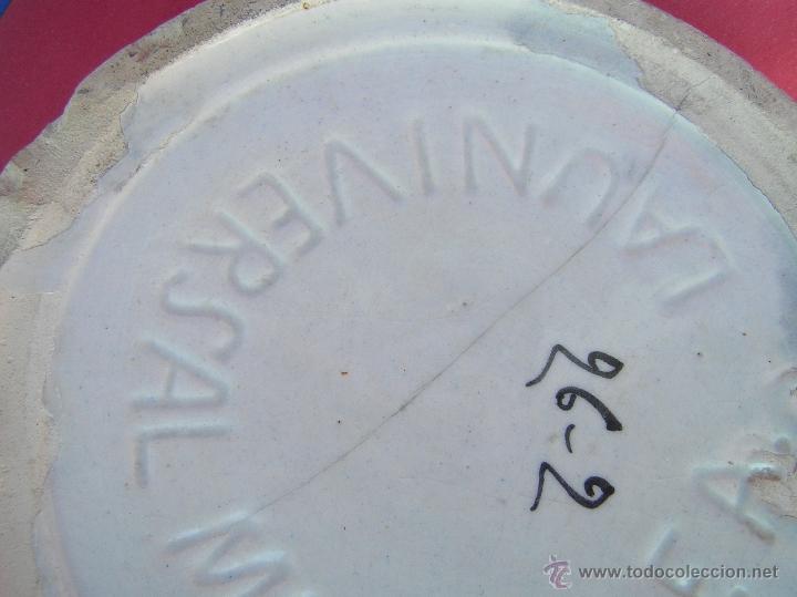 Antigüedades: ESCUPIDERA DECORADA. circa 1900. MANISES . LA UNIVERSAL. F.A. - Foto 14 - 39843069