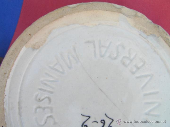Antigüedades: ESCUPIDERA DECORADA. circa 1900. MANISES . LA UNIVERSAL. F.A. - Foto 16 - 39843069