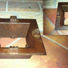 Antigüedades: ANTIGUO HORNILLO HIERRO COLADO. Lote 39847711