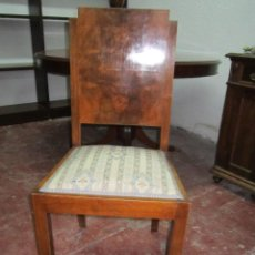 Antigüedades: BONITA SILLA EN MADERA DE RAÍZ. MEDIDA ASIENTO: 45 X 41 CMS. ALTURA ASIENTO: 45 CMS. RESPALDO: 94 CM. Lote 39849252
