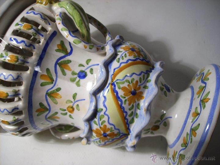 Antigüedades: BOMBONERA CERAMICA DE MANISES - Foto 2 - 39849575
