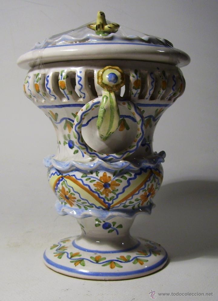 Antigüedades: BOMBONERA CERAMICA DE MANISES - Foto 7 - 39849575