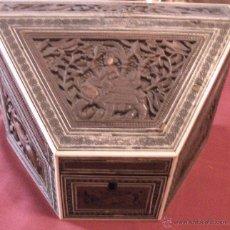 Antigüedades: ARQUETA DEL SXVIII-XIX. Lote 39850626