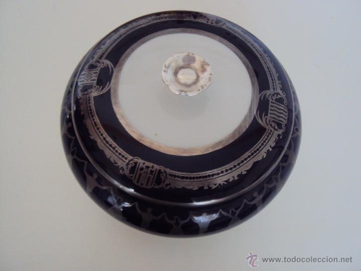 CAJA DE PORCELANA PRECIOSA Y GRANDE (Antigüedades - Hogar y Decoración - Cajas Antiguas)