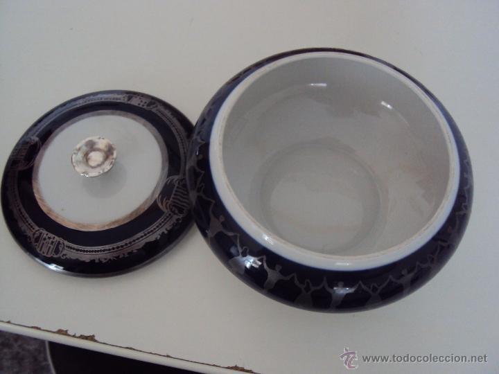 Antigüedades: caja de porcelana preciosa y grande - Foto 4 - 39851132