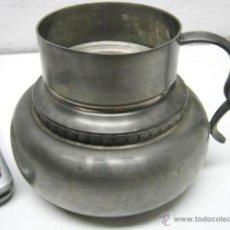 Antigüedades: ANTIGUO CANDELABRO PALMATORIA CAZOLETA QUINQUE - MARCA REIN ZINN. Lote 39863083