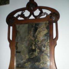 Antigüedades: BELLÍSIMO ESPEJO ART NOUVEAU. Lote 39872235