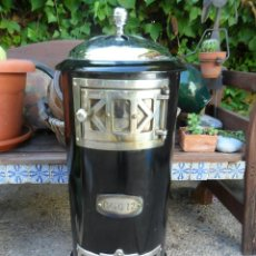 Antigüedades: ANTIGUA ESTUFA DE LEÑA, MARCA DAVO 12, ORIGEN DE HOLANDA.. Lote 39875003